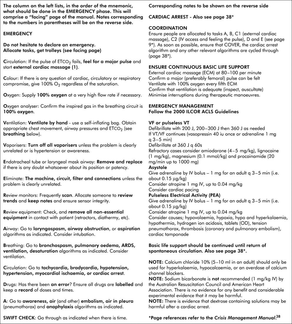 crisis management paper