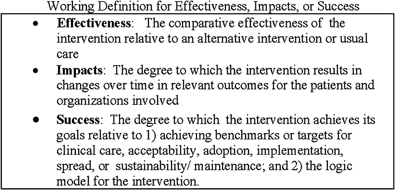 identifying quality improvement intervention evaluations: is