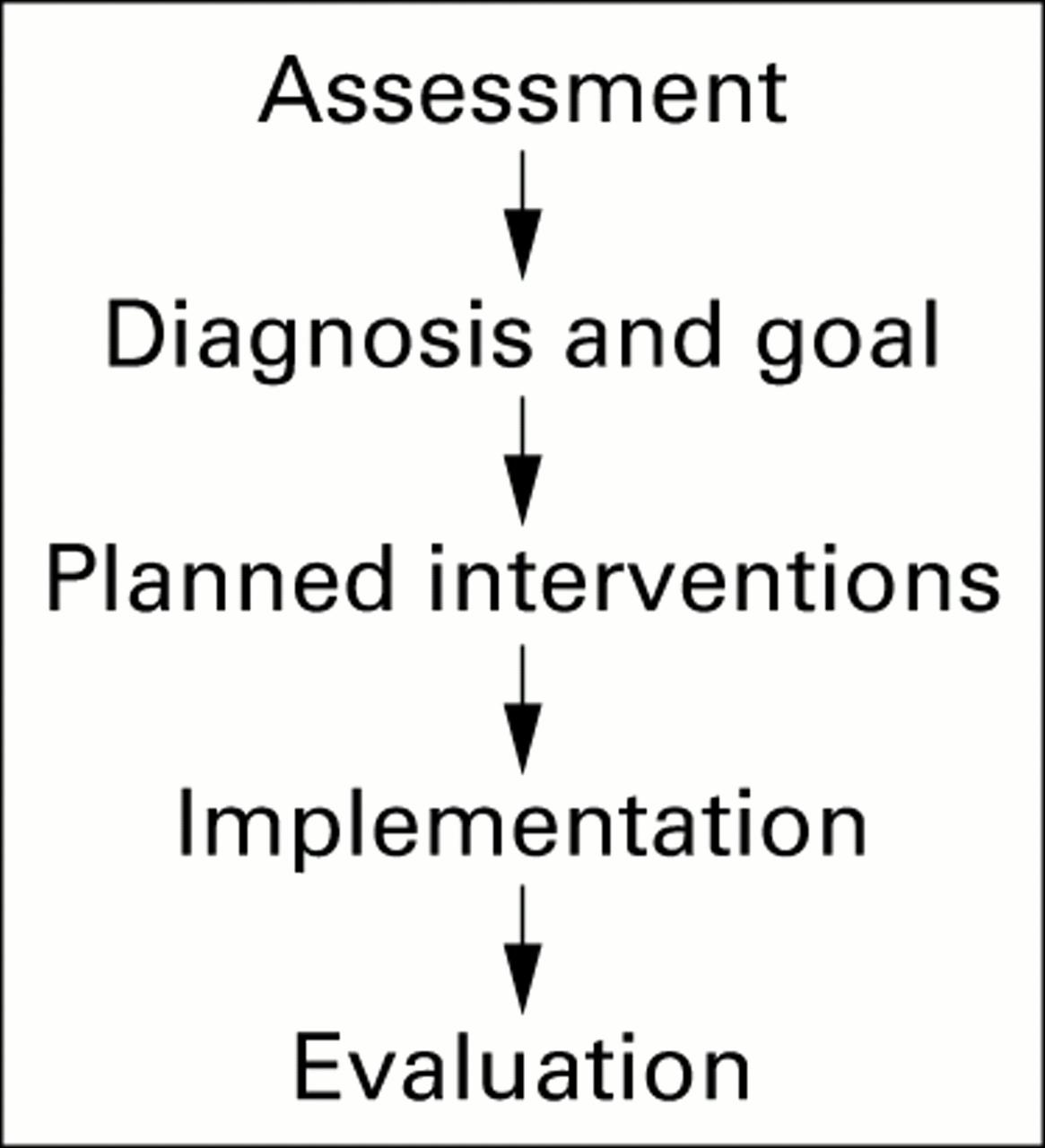 Development of an audit instrument for nursing care plans