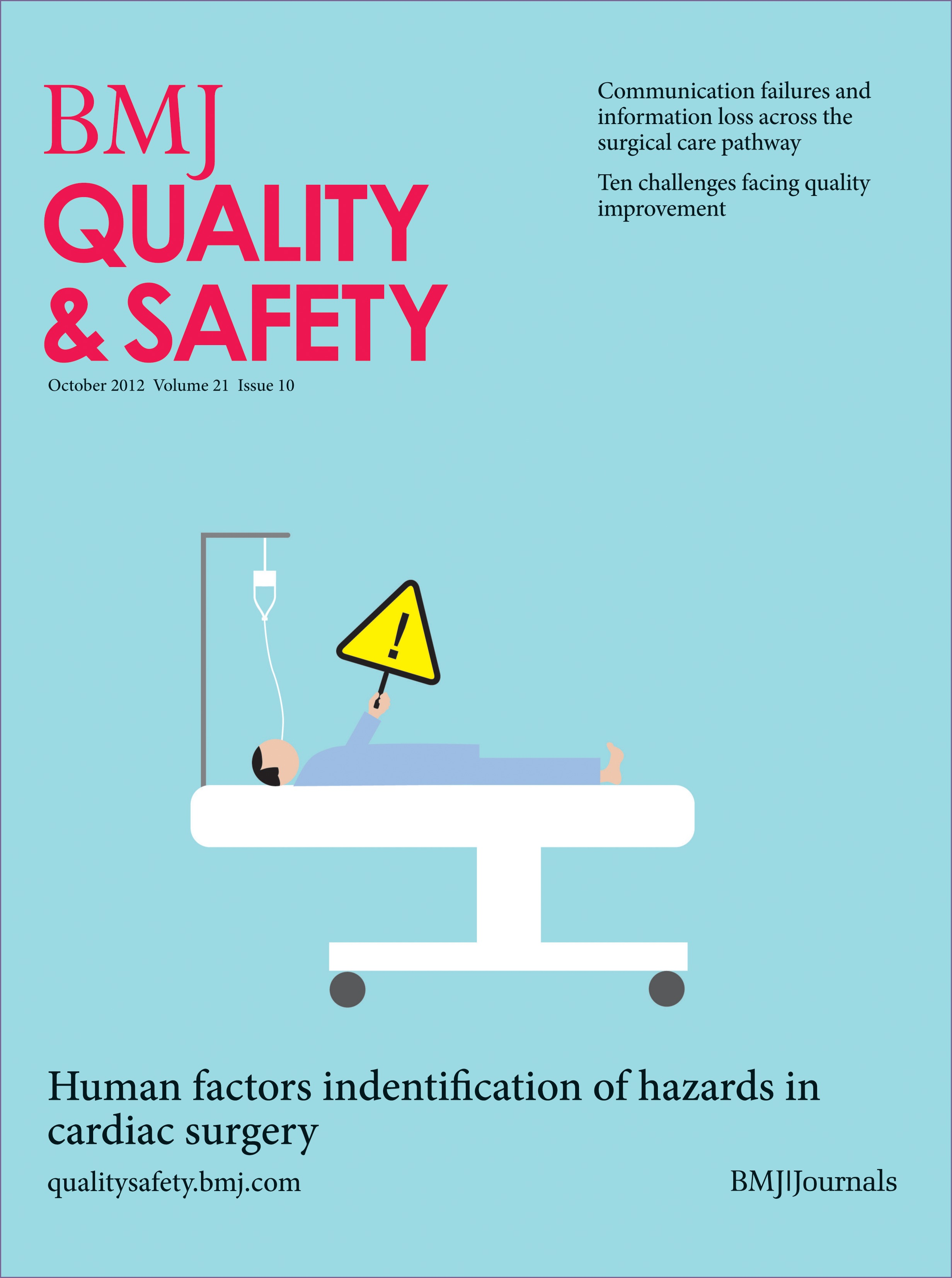 Ten challenges in improving quality in healthcare: lessons from the Health  Foundation's programme evaluations and relevant literature   BMJ Quality &  Safety