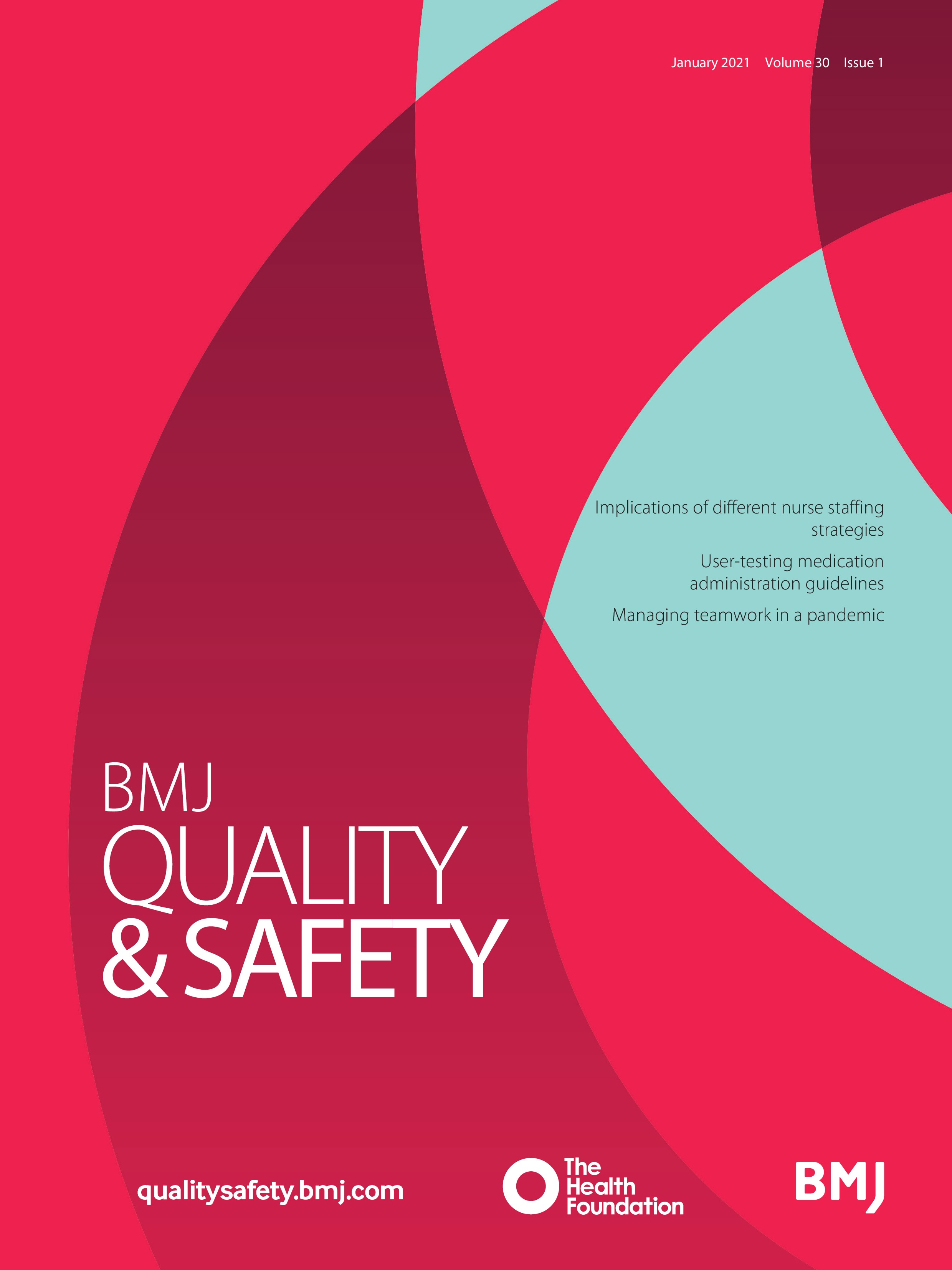 Costs And Consequences Of Using Average Demand To Plan Baseline Nurse  Staffing Levels: A Computer Simulation Study | BMJ Quality & Safety