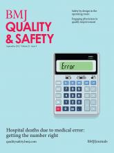BMJ Quality & Safety: 21 (9)