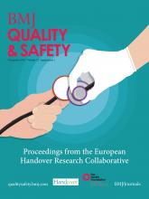 BMJ Quality & Safety: 21 (Suppl 1)
