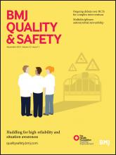 BMJ Quality & Safety: 22 (11)