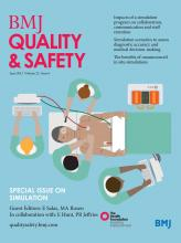 BMJ Quality & Safety: 22 (6)
