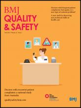 BMJ Quality & Safety: 22 (7)