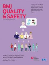 BMJ Quality & Safety: 22 (8)