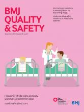 BMJ Quality & Safety: 22 (9)