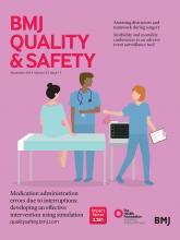 BMJ Quality & Safety: 23 (11)