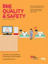 BMJ Quality & Safety: 23 (2)