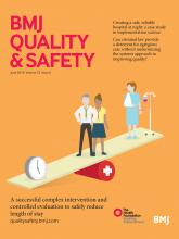 BMJ Quality & Safety: 23 (6)
