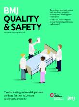 BMJ Quality & Safety: 24 (2)