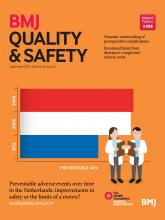 BMJ Quality & Safety: 24 (9)