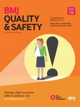 BMJ Quality & Safety: 25 (7)
