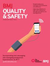 BMJ Quality & Safety: 27 (11)