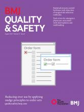 BMJ Quality & Safety: 27 (8)