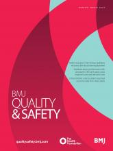 BMJ Quality & Safety: 28 (10)