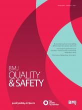 BMJ Quality & Safety: 29 (1)
