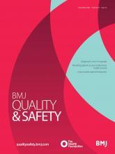 BMJ Quality & Safety: 29 (12)