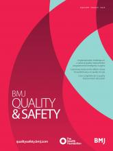 BMJ Quality & Safety: 29 (8)